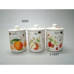 Fruit thee - koffie - suikerset