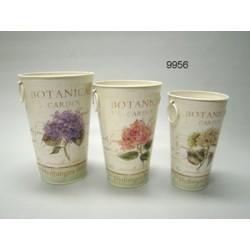 Botanical garden / plantvaas set