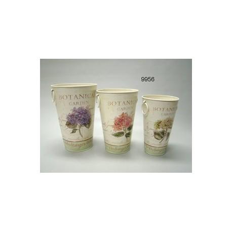 Botanical garden / plantvaas set / 23cm