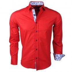 Carisma - Trendy Italiaans overhemd - Getailleerd - 8215 - Rood