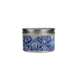 Classic Linen Candle Tin New Design
