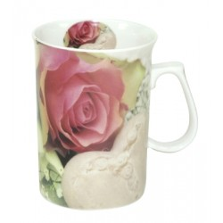 Beker Rose and Heart