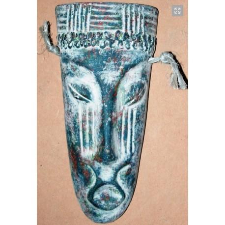 Mexicaanse masker blauw