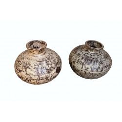 Oude waterpot uit India