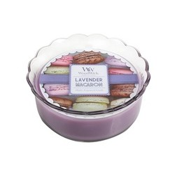 Lavender WoodWick® Macaron Candle