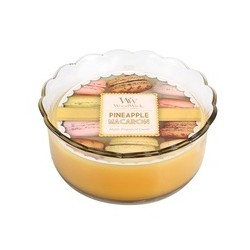 Pineapple WoodWick® Macaron Candle