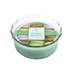Pistachio WoodWick® Macaron Candle