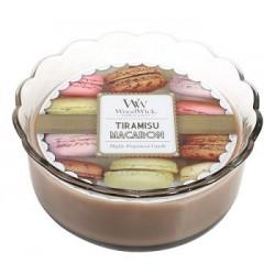 Tiramisu WoodWick® Macaron Candle
