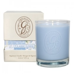 Classic Linen Boxed boxed jar candle