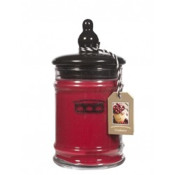 Bridgewater Small Jar-Cranberry