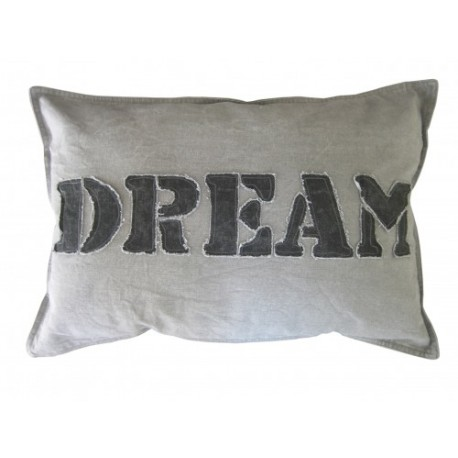 KUSSEN 40X60 LICHT GRIJS DREAM