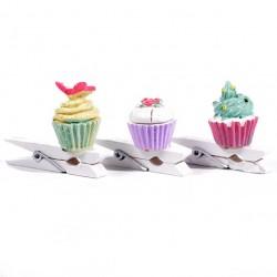 Cupcake on clip